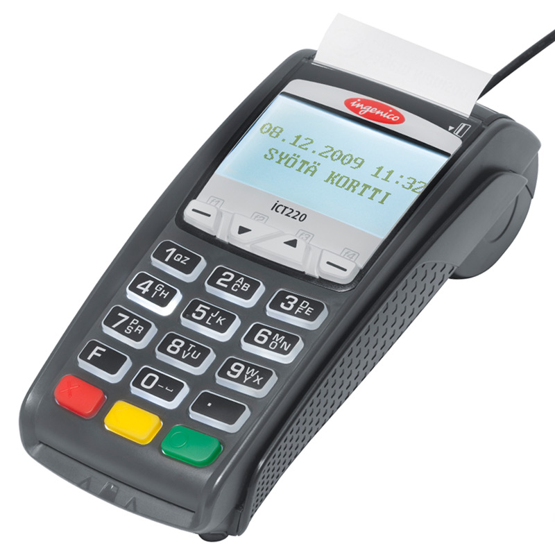 manual credit card swipe machine